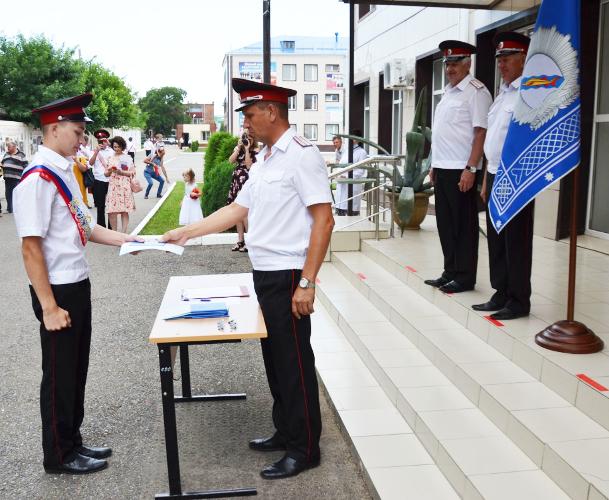 29 выпускников Ейского кадетского корпуса станут офицерами